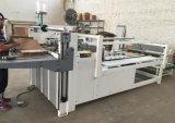 Machine ondulée Semi-Automatique de Gluer de dépliant de cadre de carton