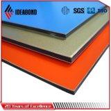 L'alliage 3003 PVDF enduisent le revêtement d'une première couche de peinture extérieur d'aluminium de façade
