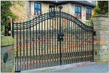 De decoratieve Poort en de Deur Van uitstekende kwaliteit van de Barrière van de Poort van het Metaal van het Smeedijzer van de Veiligheid