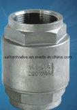 A precisão que molda o aço inoxidável parafusou a válvula de verificação da Y-Mola