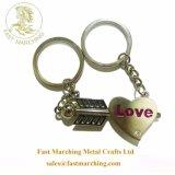 Espuma personalizado de boa qualidade personalizada coração jovem dons Keychains gravada