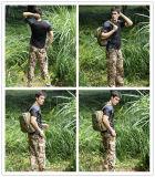 レーンジャーの円形の首の戦闘の戦術的なShort-Sleeved人の屋外のTシャツ