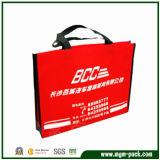 Einkaufstasche China-Manufacturer Custom Red Non Woven für Promotion