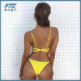 Muti Farbe Brasilien gurtet Verband Maillot Bikini-Wäsche-Bikini