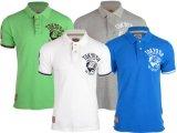 면 그스름 Jerseys Lycra 대나무 50% 면 50% 골프 테니스 블라우스 남자의 폴로 셔츠