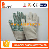 Ddsafety 2017 Knitted PVC Dots Gloves