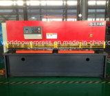 Máquina de cisalhamento hidráulica com sistema Nc E21s