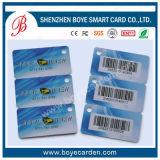 Förderung und Qualität Menbership Karte mit Barcode