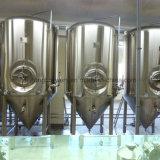 1000L usine de micro-brasserie avec chauffage à vapeur