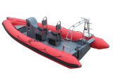 Aqualand 19FT 5.8m Rigid Inflatable Rescue Patrol/Rib Diving Motor Boat (rib580t)