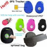 Detecção de queda impermeável Sos Rastreador GPS com cartão SIM EV07