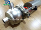 Санитарные Ss304 пропускают клапан диверсии