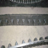 Trilhas de borracha do mercado de acessórios resistente da trilha 280*101.6*37 de Asv Posi para os multi carregadores C247 247b C257 257b Asv RC50 RC60 do terreno