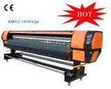 비닐은 3.2m Konica 큰 체재 용매 인쇄 기계를 표현한다