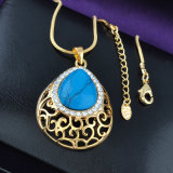 alloy Turqoise Jewelry 최신 판매 두바이 금 여자 숙녀