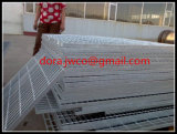 995mm*5800mm Serrated Hot DIP Galvanized Steel Grating