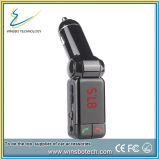 Kit de voiture Bluetooth Lecteur MP3 chargeur USB émetteur FM double