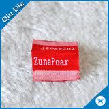 Roupa Eco-Friendly etiqueta tecida personalizada \ etiqueta principal para Colthing