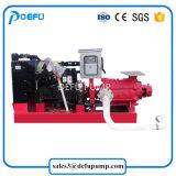 Motor diesel de la cabeza alta la lucha contra incendios centrífugas centrifugas bomba de cebado