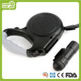 LED 가벼운 개 가죽끈 (HN-CL596)에 자동 철회 가능한