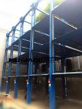 Место для стоянки гидровлического подъема платформы штабелеукладчика хранения автомобиля штабелированное лифтом