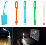 Night Book Reading를 위한 Mini 유연한 USB LED Light Lamp