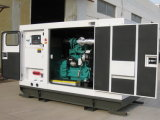 110.4kw/138kVA 침묵하는 디젤 엔진 발전기 세트