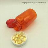 De amber Flessen van de Pil van de Geneeskunde van de Fles 160ml van het Huisdier met Verzegelaar