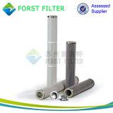 Filter van de Patroon van de Polyester van Forst Pu de Bovenkant Geplooide