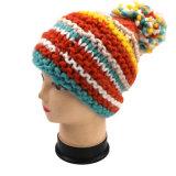 方法手のニットの帽子パターン