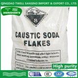 A soda cáustica a 98 % de hidróxido de sódio em pó Lutefish