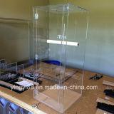 Portador de acrílico acrílico de alta qualidade para pássaros grandes