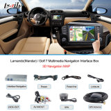 골프 7! ! ! VW Touch Navigation, USB, HD Video, Audio를 위한 차 Navigation Interface Box