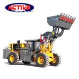 AL926 2 톤 소형 광업 사용 공장 가격을%s 가진 지하 바퀴 로더