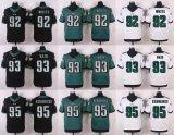 Voetbal Jerseys van de Middernacht van het Spel van het Team van Philadelphia de Groene Aangepaste Amerikaanse