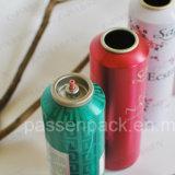 Botella de aluminio del aerosol del aerosol de Sunblock con la impresión en color 6 (PPC-AAC-007)