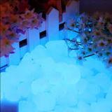 L'incandescenza caduta scheggia il colore blu
