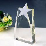 De Optische Toekenning van uitstekende kwaliteit van de Trofee van het Schild van het Glas van het Kristal van de Ster