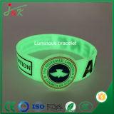 Lumineux bracelet en silicone, caoutchouc Bracelet Bangle