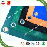 Il vinile 100% della tela incatramata del PVC del poliestere ha ricoperto il rullo del tessuto della tela incatramata