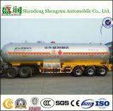 반 3 차축 58.8cbm LPG 가스 수송 탱크 트럭 트레일러