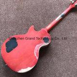 Relikt-Rosenholzfingerboard-Langspielplatte gealterte elektrische Gitarre 1960 (GLP-505)