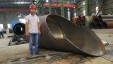 大口径の鋼鉄円形の管CNC血しょうフレーム切断および斜角が付く機械