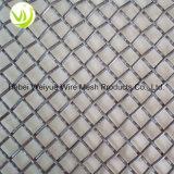 De aço inoxidável de alta qualidade Tecidos de malha de arame cravada