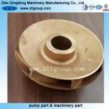 Acier inoxydable/Rotor de pompe à eau en bronze par moulage d'investissement