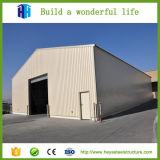 Сталь строения строительной площадки быстрая - обрамленное здание фабрики