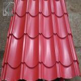 アフリカJIS G3302 SGCCの波形鉄板の屋根ふきの石の上塗を施してあるタイル