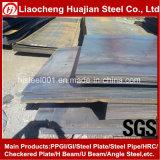 Placa de aço laminada a alta temperatura de ASTM A36 para o edifício