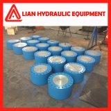 Cilindro hidráulico industrial personalizado da pressão média do elevado desempenho para o projeto da tutela da água