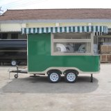 De Mobiele Keuken van de Vrachtwagen van het voedsel, Vrachtwagen van het Voedsel van de Koffie de Mobiele jy-B23